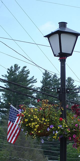 Patriotic Lamp Post 2