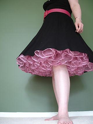 Pink Net Underskirt 029