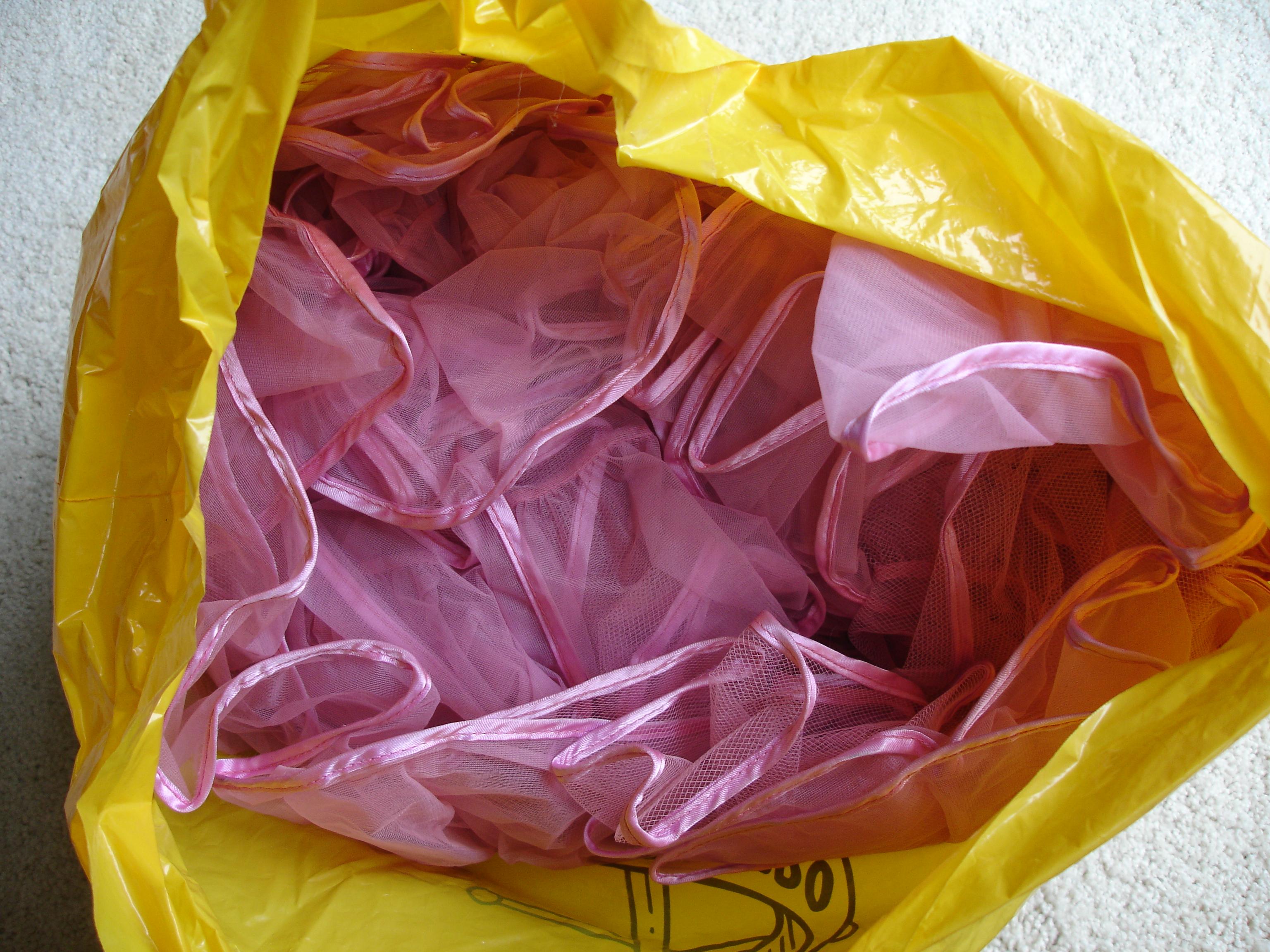 Pink Net Underskirt 007
